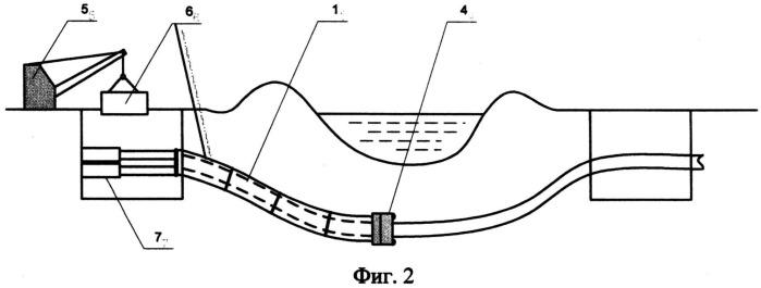 Способ бестраншейной замены подземных трубопроводов