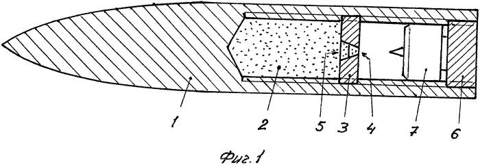 Подкалиберная разрывная пуля /варианты/ и способ ее изготовления