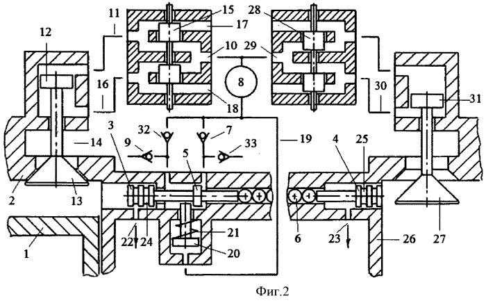 Способ привода компрессора зарядки пневмоаккумулятора атмосферным воздухом системы пневматического привода газораспределительного клапана и топливной форсунки двигателя внутреннего сгорания рабочим телом из двух цилиндров двигателя внутреннего сгорания