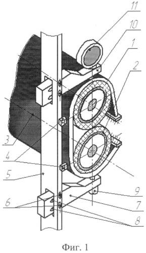 Способ измерения деформации валов