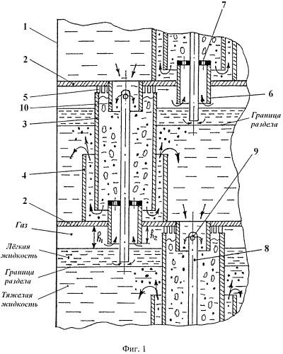 Многоступенчатый барботажный экстрактор