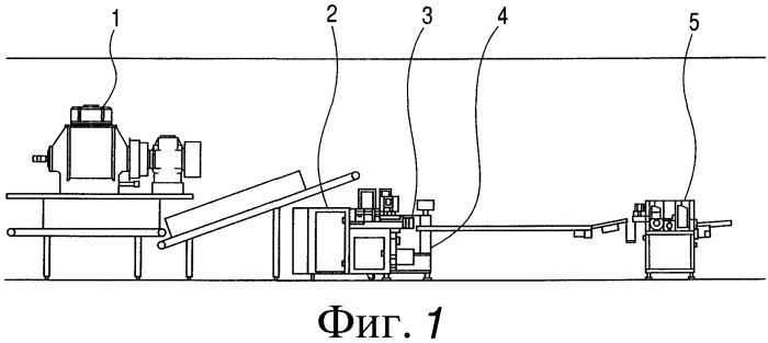 Система непрерывного производства пищевого продукта с жидкой начинкой в центре