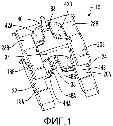 Зажим для арматуры для соединения арматуры различных размеров