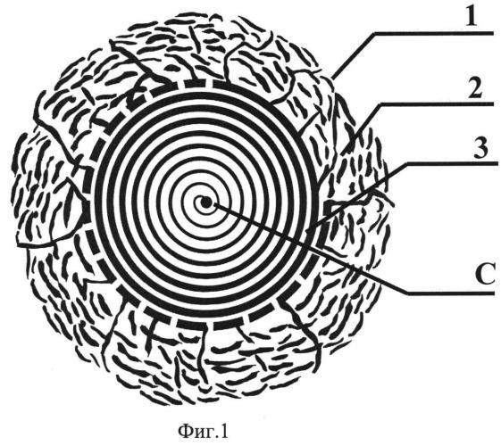 Аккумулирующий материал для насыщения атомарными веществами и способ его получения
