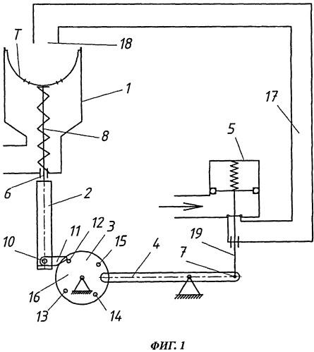 Механическое промывочное устройство, работающее на принципе действия силы тяжести