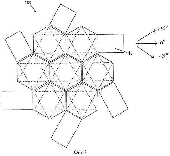 Квази-изотропная трехмерная заготовка и способ ее изготовления