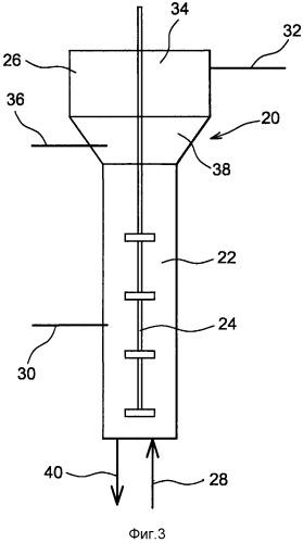 Способ дезактивации жидкого эфлюента, содержащего один или более радиоактивных химических элементов, посредством обработки в кипящем слое