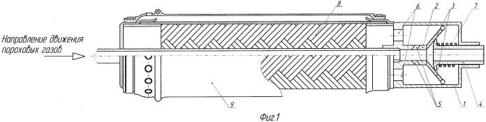 Газодинамическое устройство для огнестрельного оружия