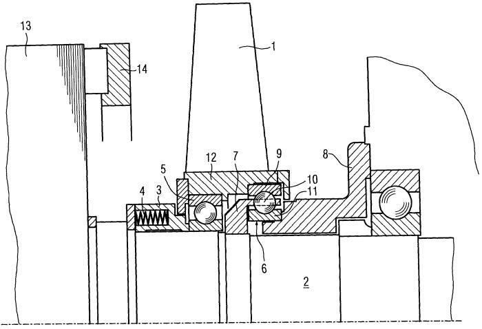 Динамоэлектрическая машина с собственным вентилятором