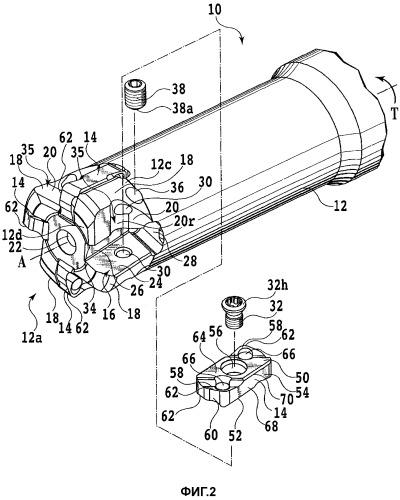 Режущий инструмент со сменными режущими кромками и режущие пластины для использования в нем
