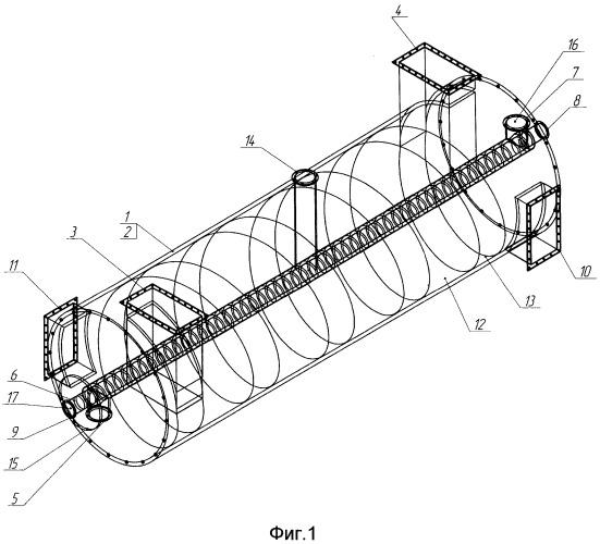 Многофункциональный аппарат для термической обработки органического сырья
