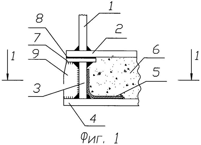 Металлический вертикальный цилиндрический резервуар с двойным днищем для хранения жидких продуктов