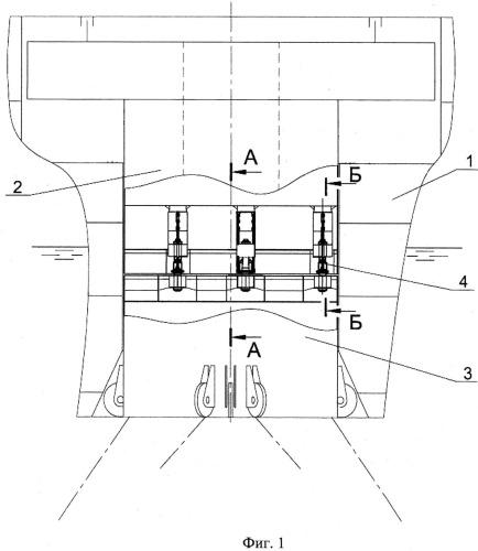 Устройство для разъемного соединения швартовного турельного узла судна
