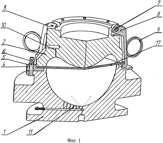 Штамп для формообразования изделий из листовых заготовок