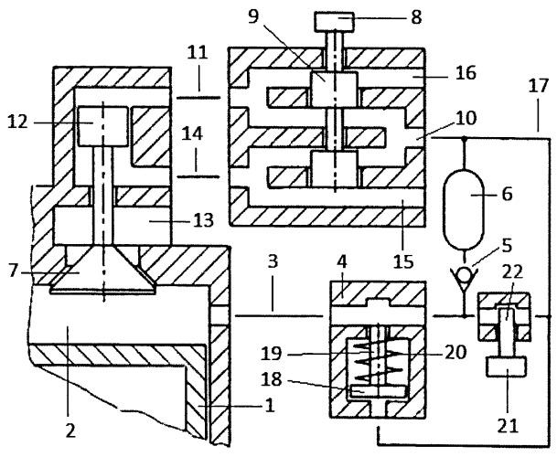 Способ амортизации ударных нагрузок газораспределительного клапана с электропневматическим приводом двигателя внутреннего сгорания