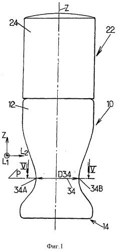 Резервуар, устройство, содержащее такой резервуар, использование такого устройства и способ нанесения продукта на ногти