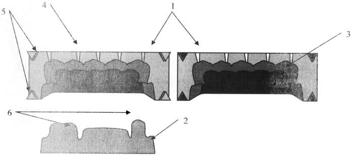 Устройство для изготовления идентичных экспериментальных конструкций временных несъемных зубных протезов