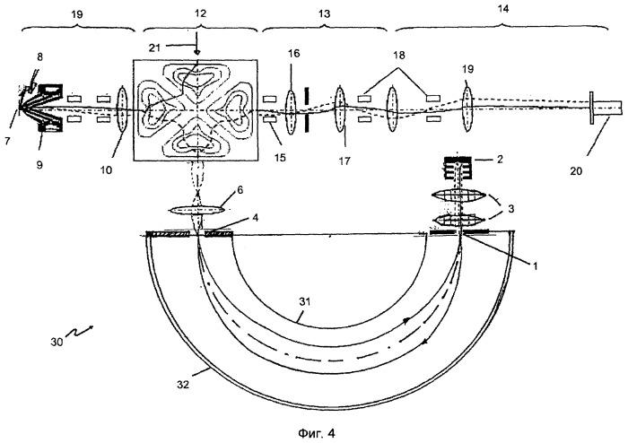 Создающий изображение энергетический фильтр для электрически заряженных частиц и спектроскоп с подобным энергетическим фильтром