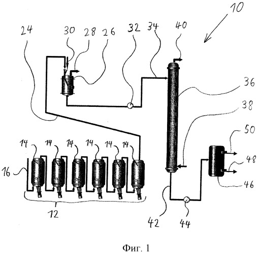 Способ получения полимерной дисперсии на основе полихлоропрена и установка для получения полимерной дисперсии на основе полихлоропрена