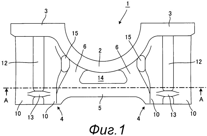 Металлическая крышка подшипника на основе железа, которая должна быть залита внутри элемента из легкого металла