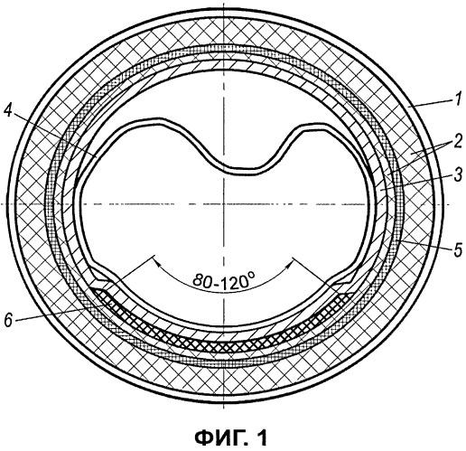Облицовочный рукав для нанесения покрытия на внутреннюю поверхность трубопровода с использованием пара в качестве теплоносителя