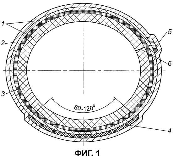 Облицовочный рукав для нанесения покрытия на внутреннюю поверхность трубопровода с использованием жидкости в качестве теплоносителя