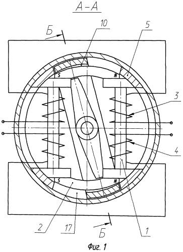 Электромагнитный поляризованный переключатель