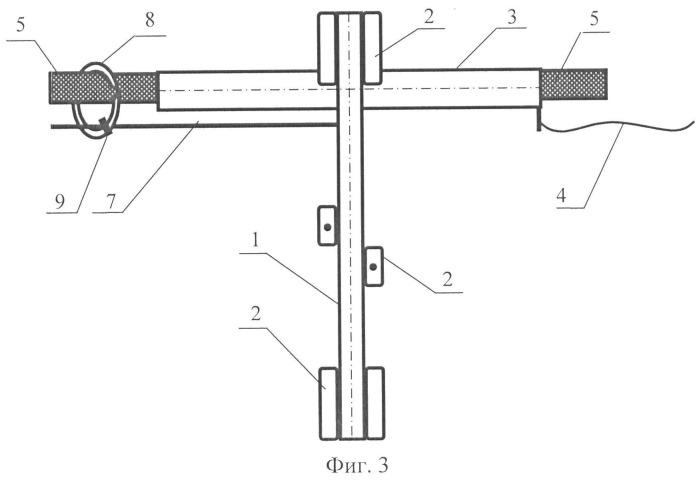 Устройство для съемки сечений камерных горных выработок
