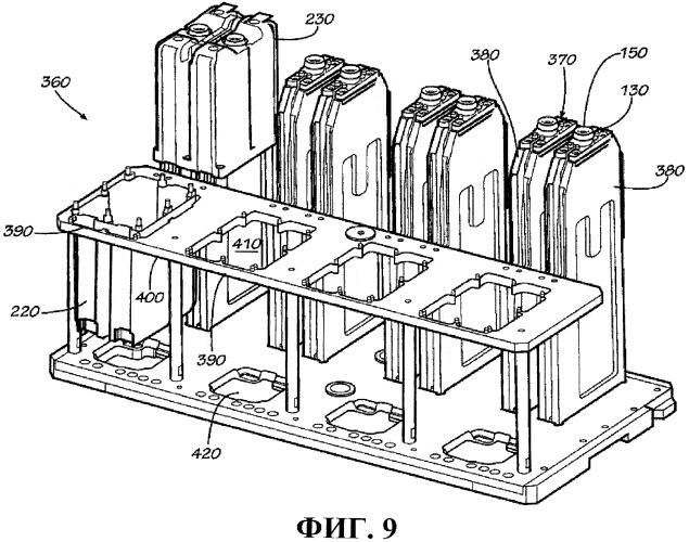 Система и способ наполнения контейнеров