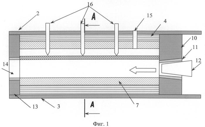 Установка для определения окислительной стойкости углерод-углеродного композиционного материала