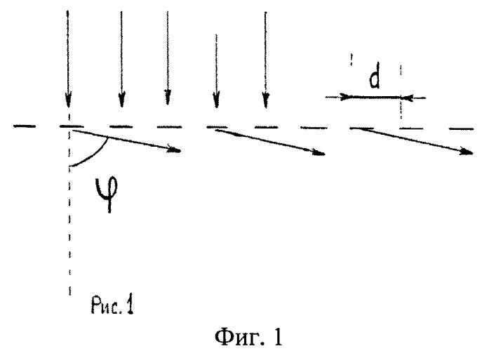 Солнечный элемент с дифракционной решеткой на фронтальной поверхности