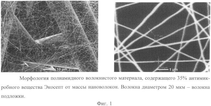 Многослойный нетканый материал с полиамидными нановолокнами
