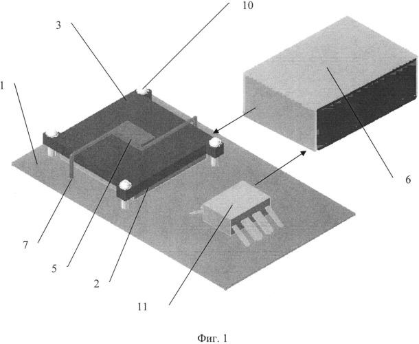 Устройство стабилизации температуры электронных компонентов