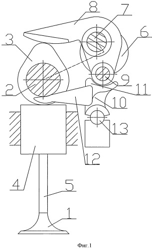 Устройство привода клапана двигателя