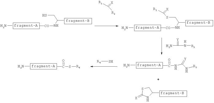 Способ получения тиоэфира пептида