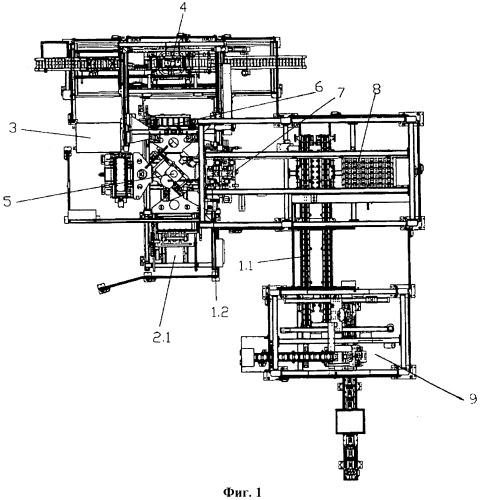 Устройство для сборки и оснащения корпуса автомобильной аккумуляторной батареи