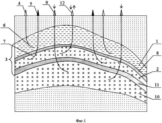 Способ разработки нефтегазоконденсатного месторождения (варианты)