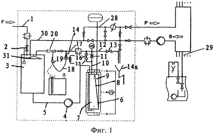 Устройство для выработки сверхчистой воды по принципу обратного осмоса