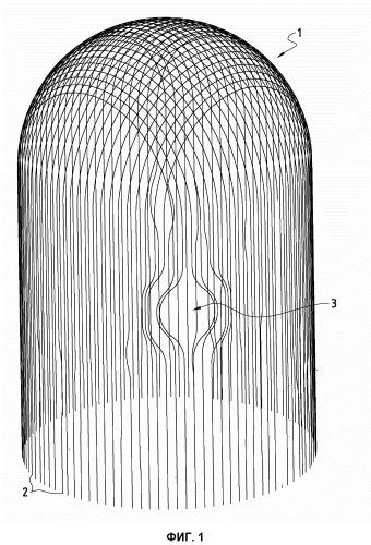 Способ и устройство бобины для продевания арматурных элементов в каналы