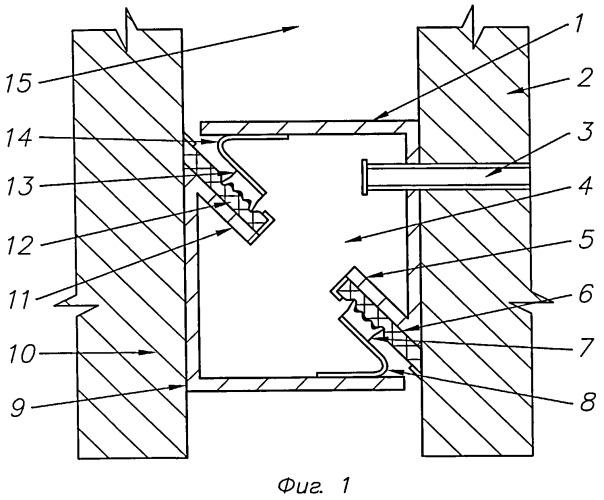 Звукоизолирующий элемент реверберационной камеры