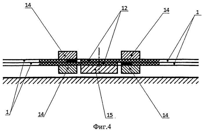 Способ изготовления георешетки неограниченной длины из отдельных секций