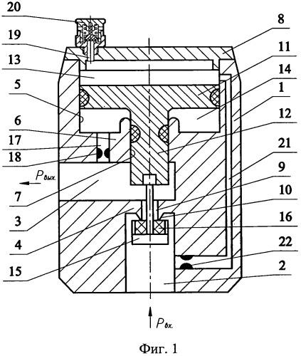 Редуктор и способ регулирования потока газа