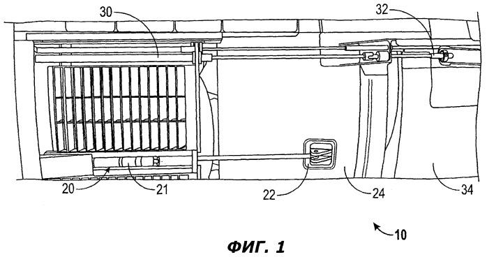 Встроенный привод механизма реверса тяги и привод вентиляторного сопла с изменяемым сечением