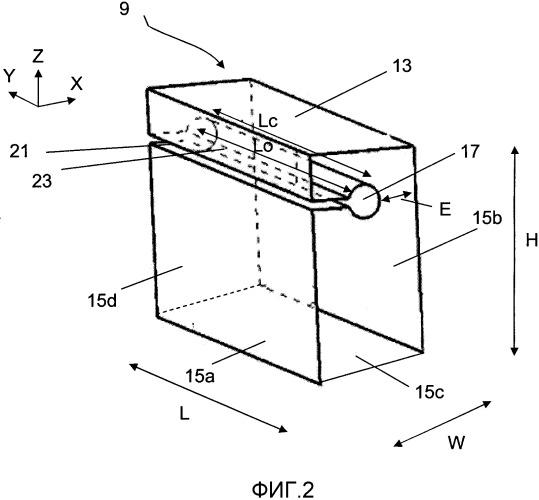 Протектор шины, имеющий полости и прорези