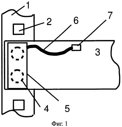 Радиочастотная метка для установки в телекоммуникционной стойке (варианты)