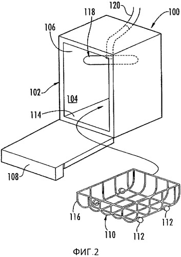 Предохранительное устройство для посудомоечной машины
