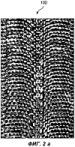 Способ образования канала переменной ширины в тканой заготовке