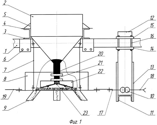 Вибрационный высевающий аппарат сеялки
