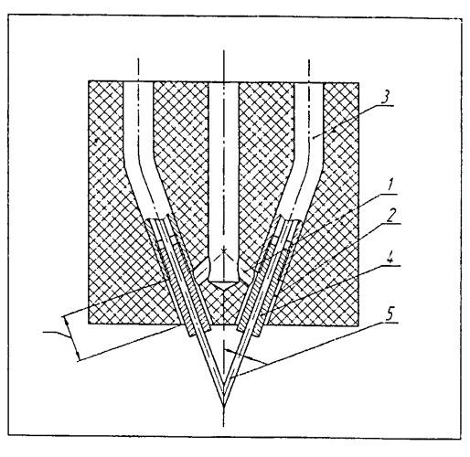 Устройство для электродуговой металлизации