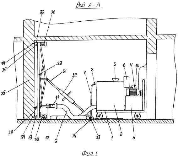 Штукатурно-шпаклевочный автоматизированный агрегат